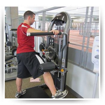 Image Gallery hip exercises machine