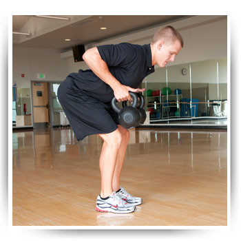 Kettlebell Bent Over Row