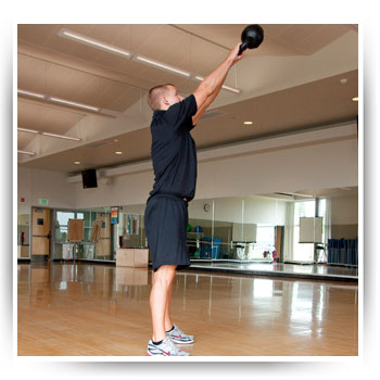 Kettlebell Double Arm Swing