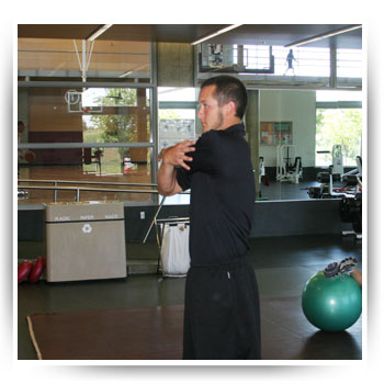 Lateral shoulder stretch