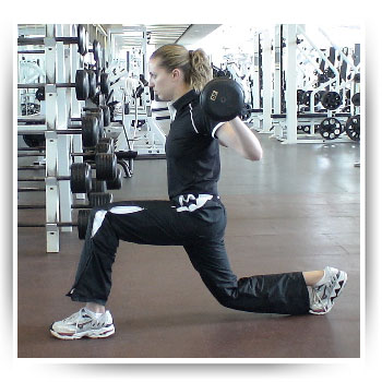 Lunges, Step Backward